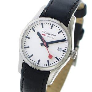 【国内発送】 モンディーン MONDAINE クオーツ レディース 腕時計 時計 A6293034111SBBXL ホワイト, イナシ 747ddf7a