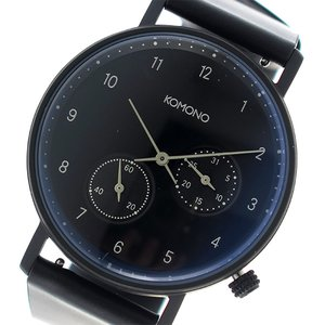 値段が激安 コモノ KOMONO Walther クオーツ 時計 ユニセックス 腕時計 Walther 時計 KOM-W4033 ネイビー KOMONO【ラッピング無料】, 収納雑貨ツエッペ:d14a920b --- wilmarambow.de