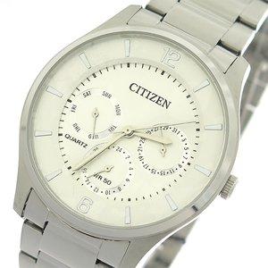 【半額】 シチズン CITIZEN クオーツ メンズ 腕時計 時計 AG8351-86A ホワイトシルバー/シルバー, キッズマーケット 83095694