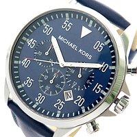c912611a9ca4 マイケルコース MICHAEL KORS 腕時計 時計 メンズ MK8617 クォーツ ネイビー