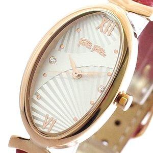新版 フォリフォリ FOLLIFOLLIE 腕時計 時計 レディース WF16R031SSS-RE LADY BLOOM クォーツ ホワイト レッド, 家具と暮らしの専門店KagLa-カグラ e7a93dca