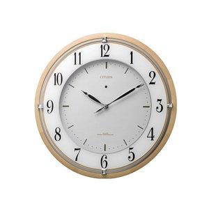 人気ブランド シチズン CITIZEN 電波掛け時計 サイレントソーラーM837 4MY837-006, 向日市 facd50a8
