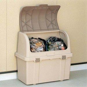 高質 リッチェル 分別ストッカー ベージュ W220C 分別ストッカー リッチェル ベージュ 屋外用の大型ゴミ箱, ヒガシイバラキグン:e0974eec --- peggyhou.com