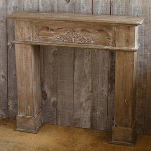 【おトク】 アンクルウッドファイアプレイスBR ガーデン大物()【送料無料】 【送料無料】暖炉をイメージして作られた、重厚感ある木製のマントルピースです 壁面の一部を暖炉と見立て、雰囲気あるディスプレイ作りに最適です, アドショップ:550aab2c --- pyme.pe
