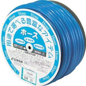 最高級 サンヨー ガゼットホース15×20 クリアブルー 50mドラム巻【GA-1520D50CB】(ホース・散水用品・ホース), 交換無料! e6c904f3