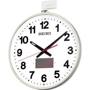 世界的に有名な SEIKO ソーラー屋外用大型電波掛時計 527×450×78 金属枠 527×450×78【SF211S SEIKO】(OA・事務用品・掛時計)(), フラワーアトリエ 仁:36032f7b --- edneyvillefire.com