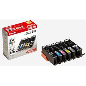 割引クーポン Canon キヤノン 純正 インクカートリッジ BCI-351XL(BK/C/M/Y/GY)+BCI-350XL 6色マルチパック 大容量タイプ BCI-351XL+350XL/6MP (BCI351XL+350), 大磯町 8953ee77