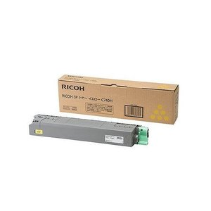 『2年保証』 RICOH RICOH SPトナー イエローC740H 600587, フジイの集成材 ネットショップ 1141a114