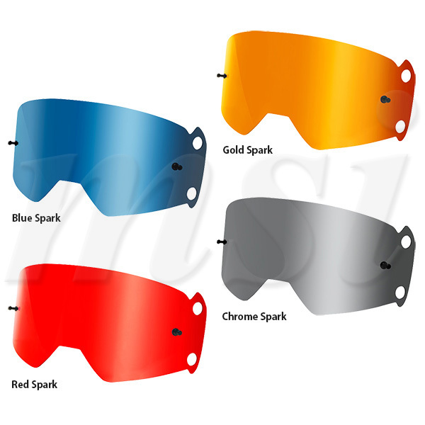 glass Chrome Spark Gogle Fox Vue Black