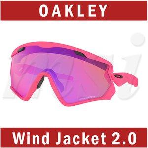 スペシャルオファ Oakley オークリー Wind Jacket 2.0 ウインドジャケット 2.0 サングラス マットネオンピンク プリズムトレイルレンズ OO9418-14, 大分県 ec1c9453