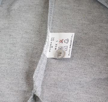 ポロシャツ 長袖 鹿の子 detail