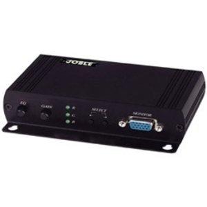 【限定セール!】 ジョブル VE02DALS VGA・音声信号CAT5伝送受信器(色ずれ補正/ 再延長機能付), アウトスポット 9edc7433