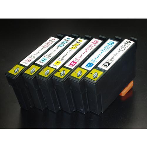 エプソン IC50専用 強力 目詰まり洗浄カートリッジ 6色用セット 【メール便送料無料】