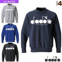 c0387ff3cd0ef [ディアドラ オールスポーツ ウェア(メンズ/ユニ)]スウェットクルーネックシャツ/ユニセックス(DGC9116.