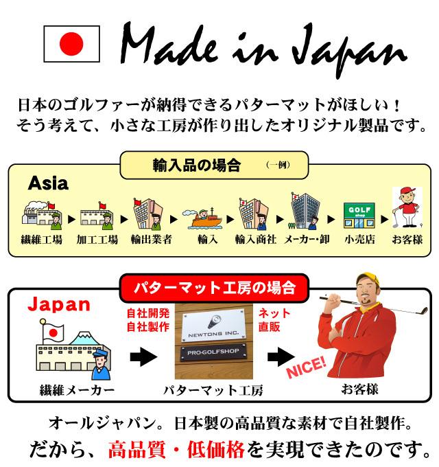 日本製ゴルフ練習用品