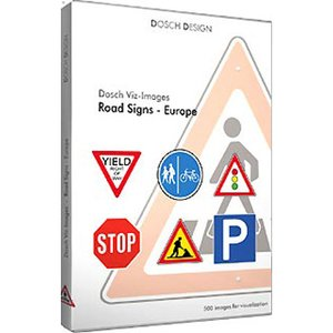 贅沢屋の DOSCH DESIGN DOSCH Viz-Images: Road Signs ~ Europe DVI-RSE, パートナーズ 2525dcea