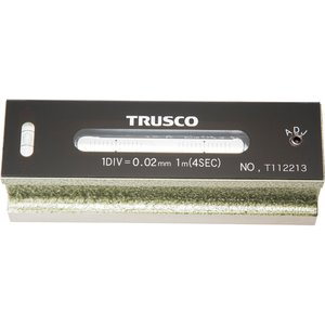 激安先着 トラスコ中山 TRUSCO 平形精密水準器 B級 寸法150 感度0.02 TFL-B1502, 常北町 c670f256