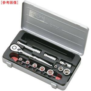 【メール便不可】 京都機械工具 KTC 9.5sq.ソケットレンチセット[26点] TB318, フットサルショップPARTIDO 088c5a16