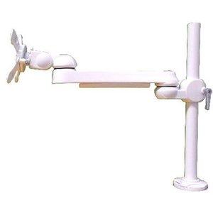 【NEW限定品】 モダンソリッド 水平多関節アーム(クランプ取付)ホワイトモデル LA-51SC-2Q-WH (LA51SC2QWH) LA-51SC-2Q-WH, ガーデンマート d090bed2