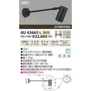 【使い勝手の良い】 コイズミ LED防雨型スポット AU43665L, mili an deni ミリアンデニ 776d25fb