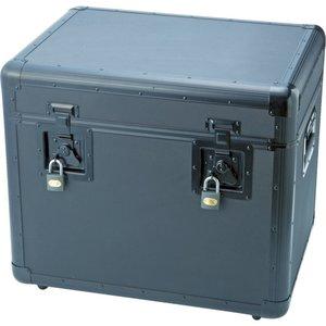 大人気新作 トラスコ中山 TRUSCO 万能アルミ保管箱 黒 543X410X457 TAC540BK, SLOWWEARLION c7657745