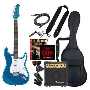 輝い ENTRY ST-180/MBL エントリ-セツト フォトジェニック エレキギター エントリーセット メタリックブルー Photogenic ST180MBLエントリセツト 4534853531146, SAKURA STORE 76737734