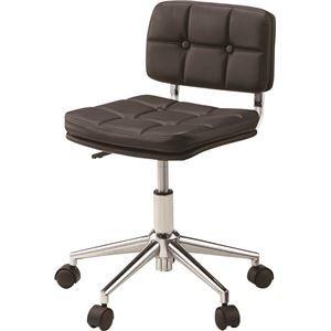 【名入れ無料】 その他 デスクチェア(椅子) 昇降機能付き スチール/ソフトレザー/合皮 RKC-301BK ブラック(黒) ds-1386655, MyLittle 家具&雑貨 f33c8a0d