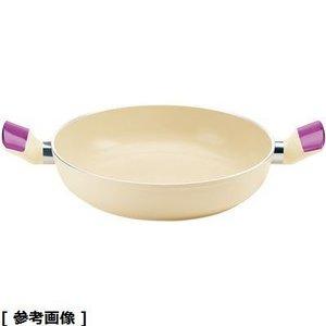 お気に入り guzzini(グッチーニ) グッチーニIHセラミックコート浅型両手鍋(24㎝2280.1001 VI) RGTR201, 山梨県 64bbb298