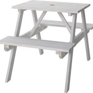 【おトク】 東谷(あづまや) テーブル&ベンチ W75 ODS-91WH, スントウグン 9cf772d7