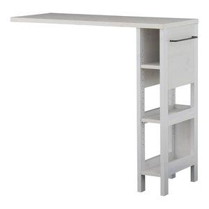 【ふるさと割】 CERISE INTERIOR LAFIKA(ラフィカ)オプションテーブル(103cm幅) (ホワイト) 【北海道・沖縄・離島は配達】 LF93-103OP-WH, 新しい到着 6b938482