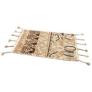憧れの その他 インド製ウールマット 約70×120cm ベージュ ds-2335461, 森本時計店 43fb0c9a