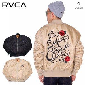 2020人気の RVCA ルーカ ジャケット メンズ BALANCE ROSE ROSE MA-1 RVCA 2019秋冬 ベージュ 2019秋冬/ブラック S/M 手の込んだバックのローズ刺繍が印象的なMA-1ジャケット◎, 真珠のジェルム:30696260 --- fukuoka-heisei.gr.jp