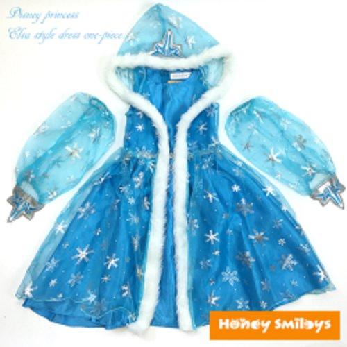 54eedbbcbf9d5 メール便送料無料) ディズニー プリンセス アナと雪の女王 エルサ風 ...