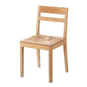 【お得】 ■在庫限り・入荷なし■ ダイニングチェア チル ( 送料無料 チェアー 椅子 イス チェア ナチュラル カントリー テイスト 木製 ), ONLY ONE STYLE 8a150baa