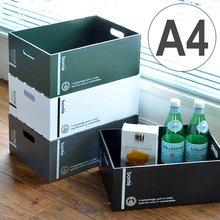 収納ボックス A4サイズ 幅22×奥行32×高さ13cm 深型