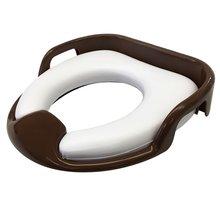 ソフト便座 持ち手付き ソフトシート 子供用 トイレ 補助便座