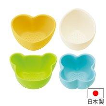 小鉢 4個セット 離乳食 キャンディカラー ミニ皿 離乳食用 突起付き 日本製
