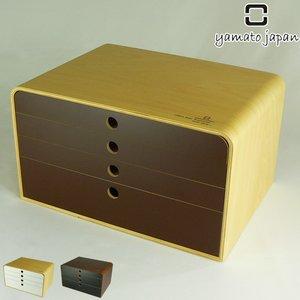 人気絶頂 ファイルケース A4 FILE CASE 4段 ( 送料無料 レターケース a4ファイルケース 書類ケース 小物入れ 引き出し 小物ケース ファイルボックス 木製 BOX 収納 ), 快適住まいライフ 332873c9
