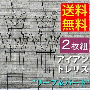 【国内正規品】 アイアントレリス ガーデン リーフ/バード ガーデン 2枚組 東欧雑貨のような愛らしさ, ファーストワン:f994e52d --- frizou.com