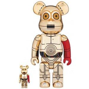格安人気 メディコムトイ BE@RBRICK C-3PO(TM)THE FORCE AWAKENS Ver.100% & 400% /ベアブリック/スターウィーズ, USプラザ e4c19a9b