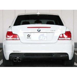 2019年最新入荷 3D Design リアディフューザー BMW 1シリーズ 135i M-Sport E82用 シングル (3108-18211)【エアロ】3Dデザイン Rear Diffuser, ペットランド熊取 d30d1f8c