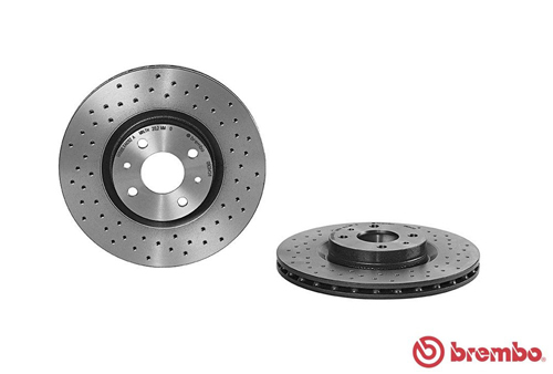 Brembo 09.9464.21 Front Brake Disc Set of 2