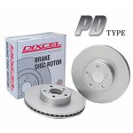 DIXCEL BRAKE DISC ROTOR PD Type リア用 BMW i3 I01 1Z00/1Z06 33kwh用 (PD1258560S)【ブレーキローター】ディクセル ブレーキディスクローター PDタイプ