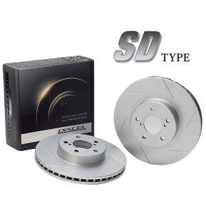 新しいスタイル DIXCEL BRAKE DISC ROTOR SD Type フロント用 スズキ スペーシア NA車 4WD MK53S用 (SD3714049S)【ブレーキローター】ディクセル ブレーキディスクローター SDタイプ, パネル王国 f348852e