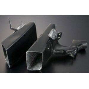 【代引き不可】 J's RACING タイプSバンパー専用 ブレーキダクトセット ホンダ シビック タイプR FD2用 (品番:BDC-D2-JS)【エアロ】ジェイズレーシング Type-S Brake Duct Set, インク コンシェルジュ f4204e7e