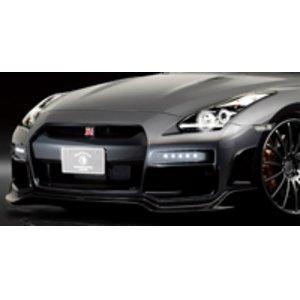 激安通販 ROWEN Silver Wolf Edition フロントバンパー(FRP) 素地 日産 ニッサン GT-R R35用 (1N001A01)【エアロ】ロェン シルバーウルフエディション, イチグチ 74cbf07b