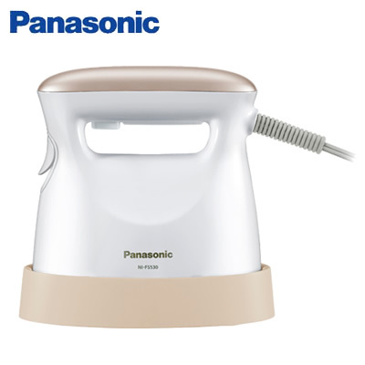 パナソニック 衣類スチーマー アイロン NI-FS530-PN ピンクゴールド調