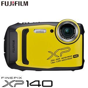 【高い素材】 富士フイルム タフネスカメラ FinePix XP140 防水 耐衝撃 防塵 耐寒 4K動画 デジタルカメラ XPシリーズ FX-XP140Y イエロー, 健太餃子館 d108b72f