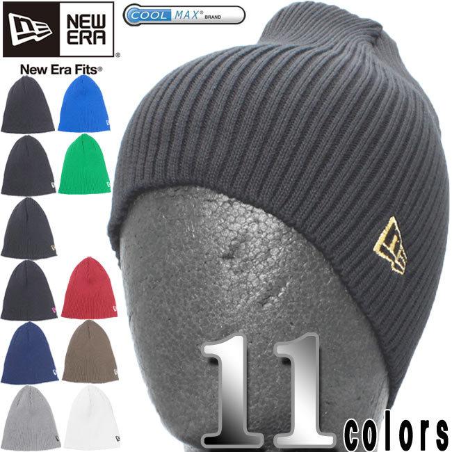 クールマックス(R)×ニューエラ ニットキャップ リブニット11カラーズ COOL MAX(R)×New Era Knit Cap Rib Knit 11colors