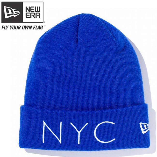 ニューエラ ニットキャップ ベーシックカフニット ニューヨークシティ ロイヤル スノーホワイト スノーホワイト New Era Knit Cap Basic Cuff New York City Royal Snow White Snow White